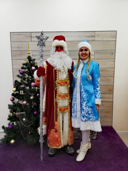 Дедушка Мороз и Снегурочка 2021