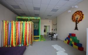 Зал для детей с поролоновыми кубиками в Коломне