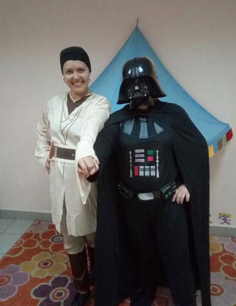 Детский праздник «Звездные войны»