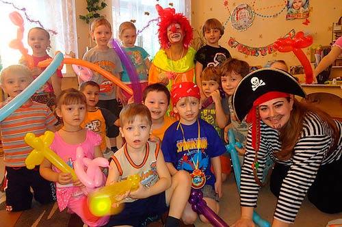 Клоун Морожок и его друзья
