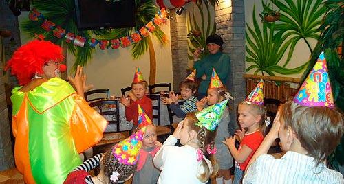 День рождения в студии Клоун Морожок