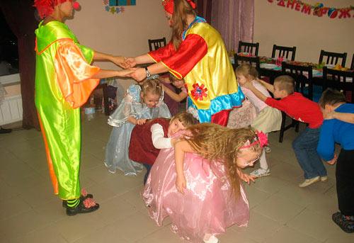 Праздник с клоунами в Коломне
