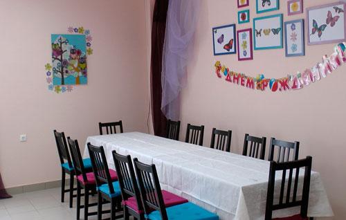 Помещение для проведения детского праздника