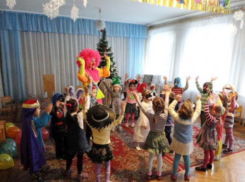 Место для праздника детей