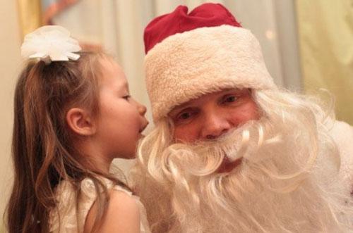 Загадывание желания Деду Морозу