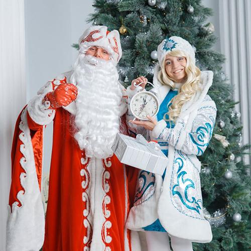 Корпоративы и вечеринки с Дедом Морозом