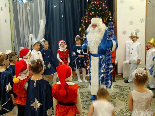 Аниматор Дед Мороз в детском саду