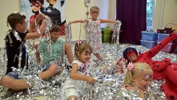 Серебряное шоу - праздник для ребенка