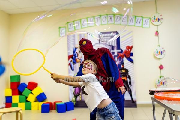 Мыльные пузыри на детский праздник в Коломне